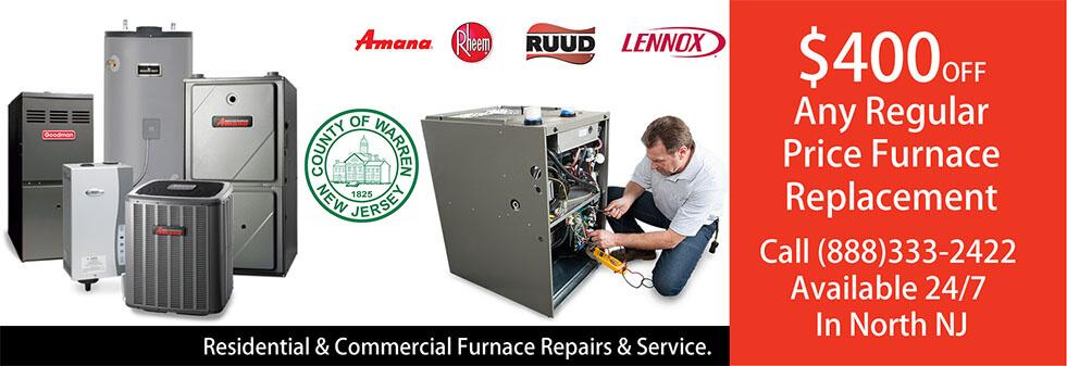 Furnace Repairs Warren County NJ