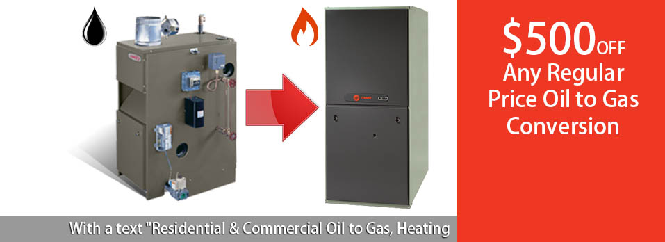 oil to gas conversion heating service nj