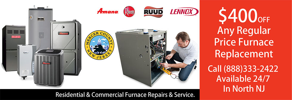 Furnace Repairs Mercer County NJ
