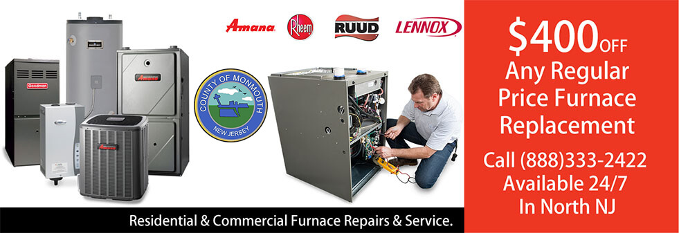 Furnace Repairs Monmouth County NJ