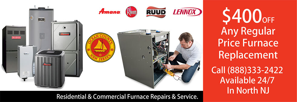 Furnace Repairs Ocean County NJ