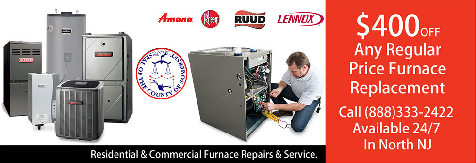 Furnace Repairs Somerset County NJ