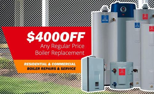 Boiler Repairs & Full Service NJ $400 OFF Replacements